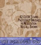 Stains Photoshop Brushes