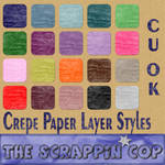 Crepe Paper Layer Styles
