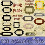 Book Plate Custom Shapes