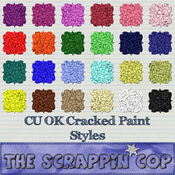 Cracked Paint Photoshop Styles