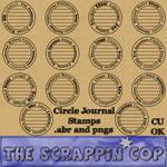 Circle Journal Brushes