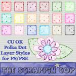 Soft Polka Dot Layer Styles