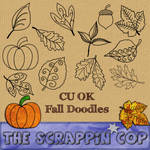 Fall Doodles Custom Shapes