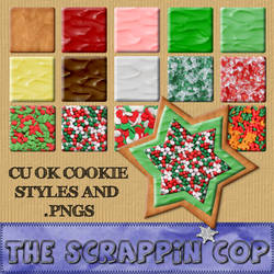 Sugar Cookie Styles and pngs
