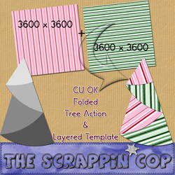 Folded Tree Action and Template