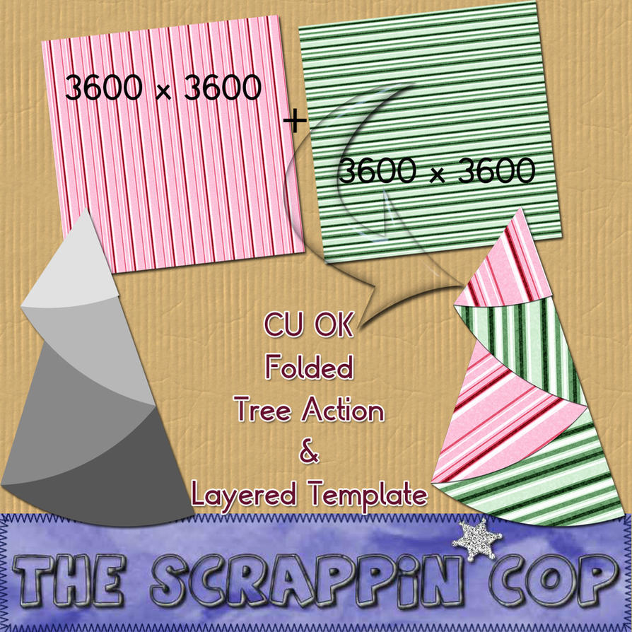 Folded Tree Action and Template by debh945
