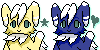 Meowstic Icons! by Mangatiger
