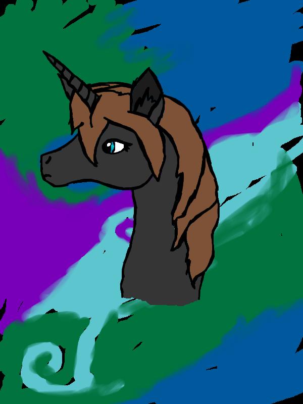 how to draw a semi realistic unicorn