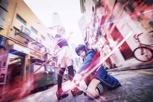 Mitsurugi Kamui Hikae Crossing blades 2 by Adellexe