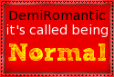 Demi-romantic Stamp by ZahrahLeona