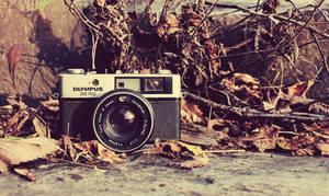 Olympus Wasteland (Old Camera) by ZahrahLeona