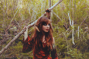 Ginger-Wolf by ZahrahLeona