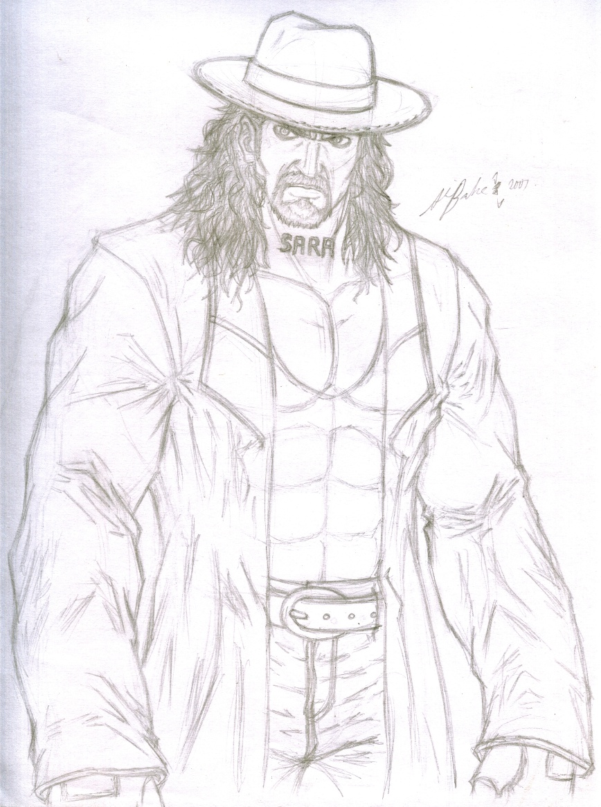 Uncategorized How To Draw The Undertaker rough sketch the undertaker by thealvintaker on deviantart thealvintaker