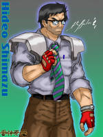 Hideo Shimazu by TheALVINtaker