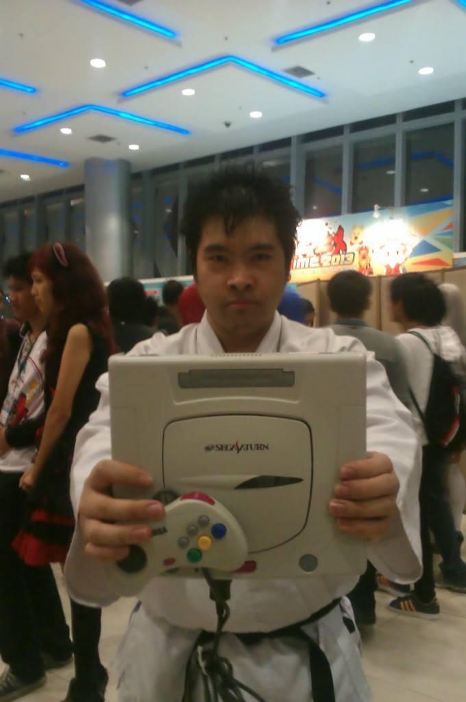 Sega Saturn, Shiro! by TheALVINtaker