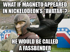 If Magneto is in Avatar...