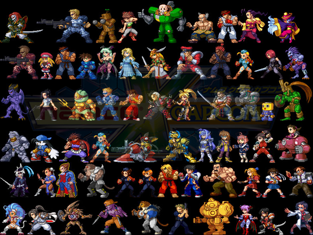 oh yeah, from the namco x capcom game, they've actually made 2D sprites out
