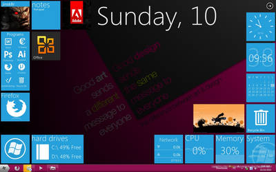 Winter Desktop Scrs. by ArchangelX2