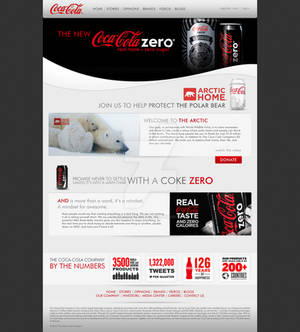 Coca-Cola Website