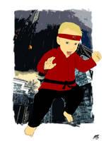 Hudson Kung Fu by WhackAndBlite