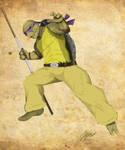 Donatello by WhackAndBlite