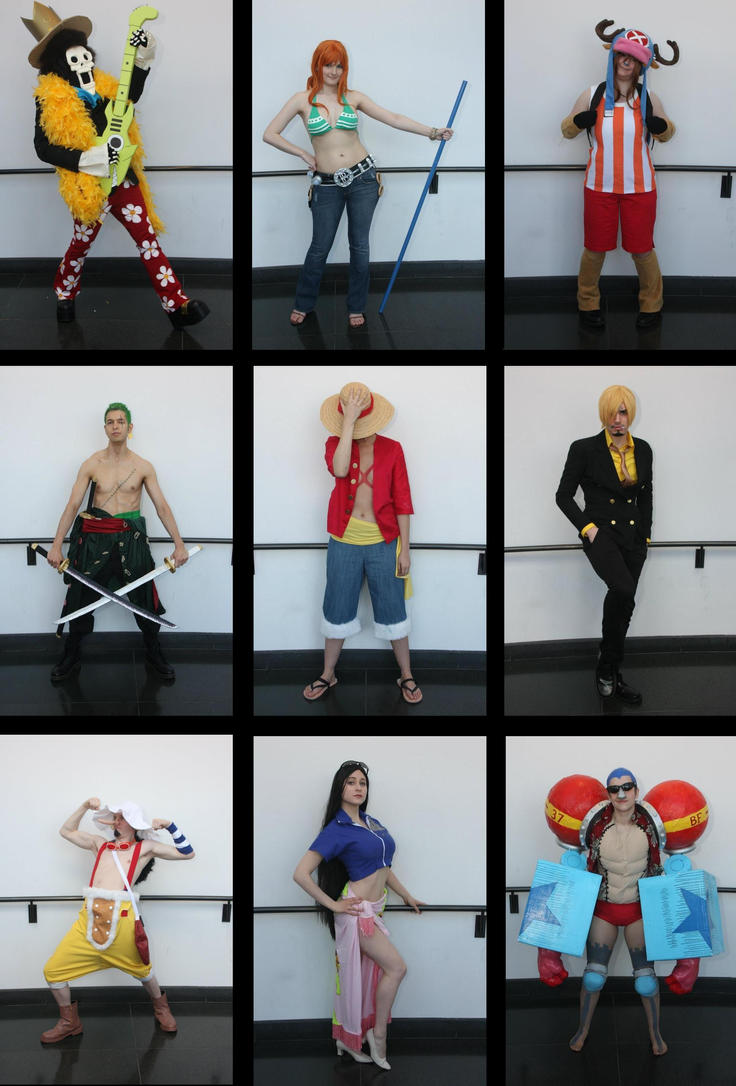 ONE PIECE: The Full Crew by staticguru