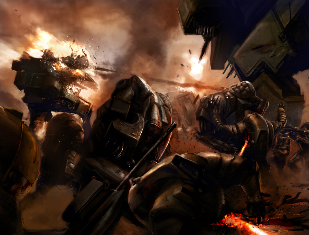 1st Battle for Venus by Luches