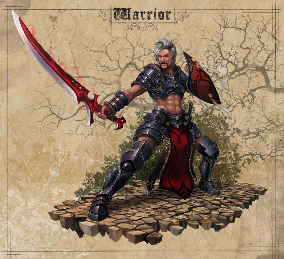 FEZ Warrior by Luches