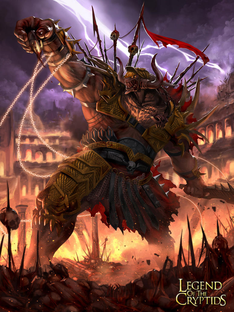 (Grim) Bloody King of Executioners by Luches