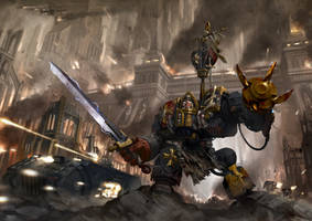 An Unending Crusade by Luches