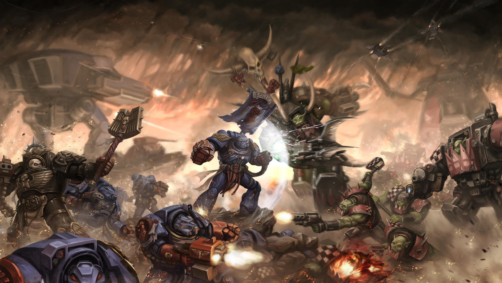 Warhammer 40k death company wallpaper - 40k By Wolfguard007