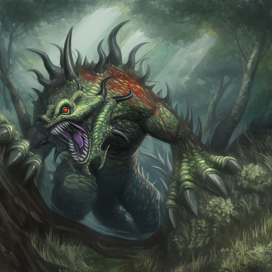 Provoked Baloth by Luches
