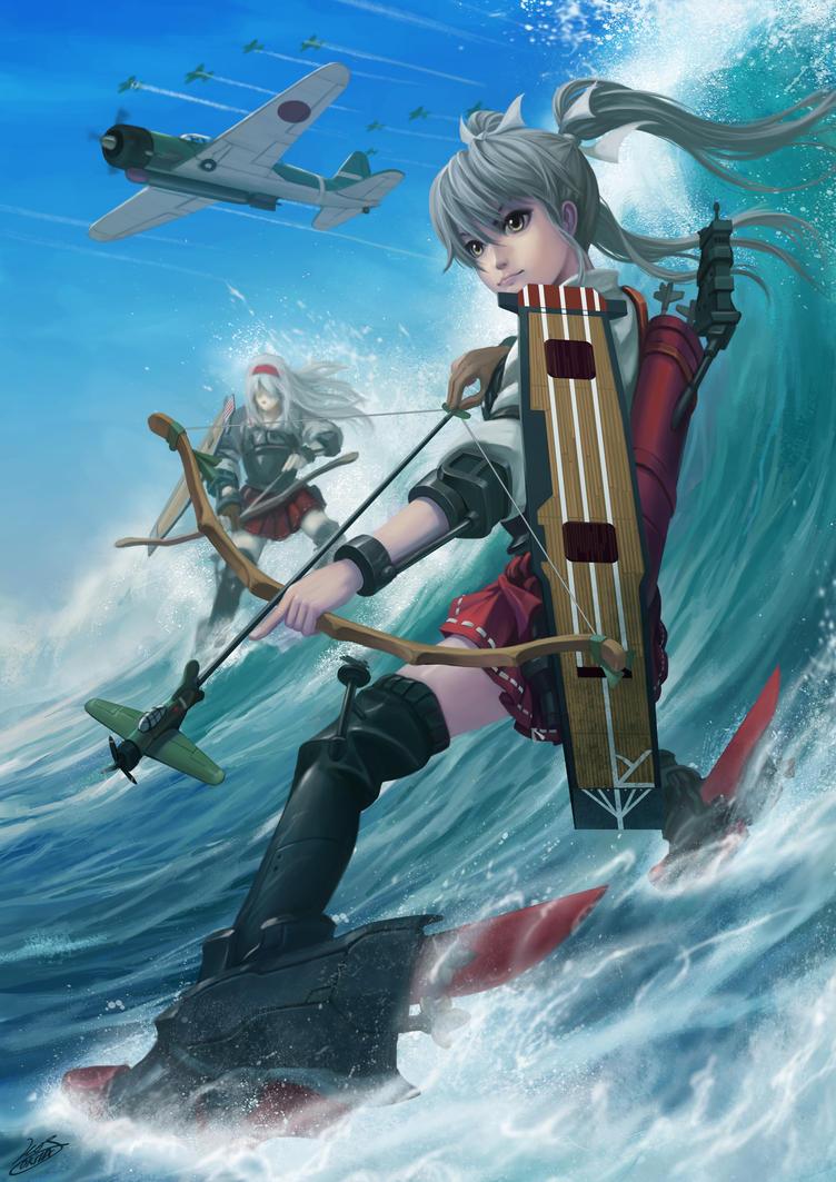 5th Carrier Division IJN Zuikaku by Luches