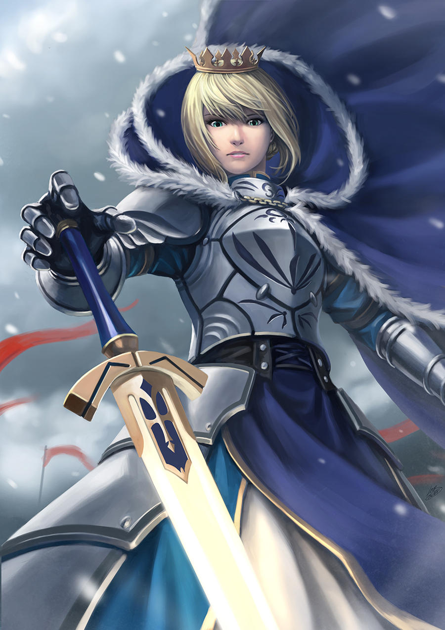 ~Artoria Pentagon, The Once and Future King~ by Luches