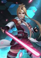 Asuna Gun Gale Online by Luches