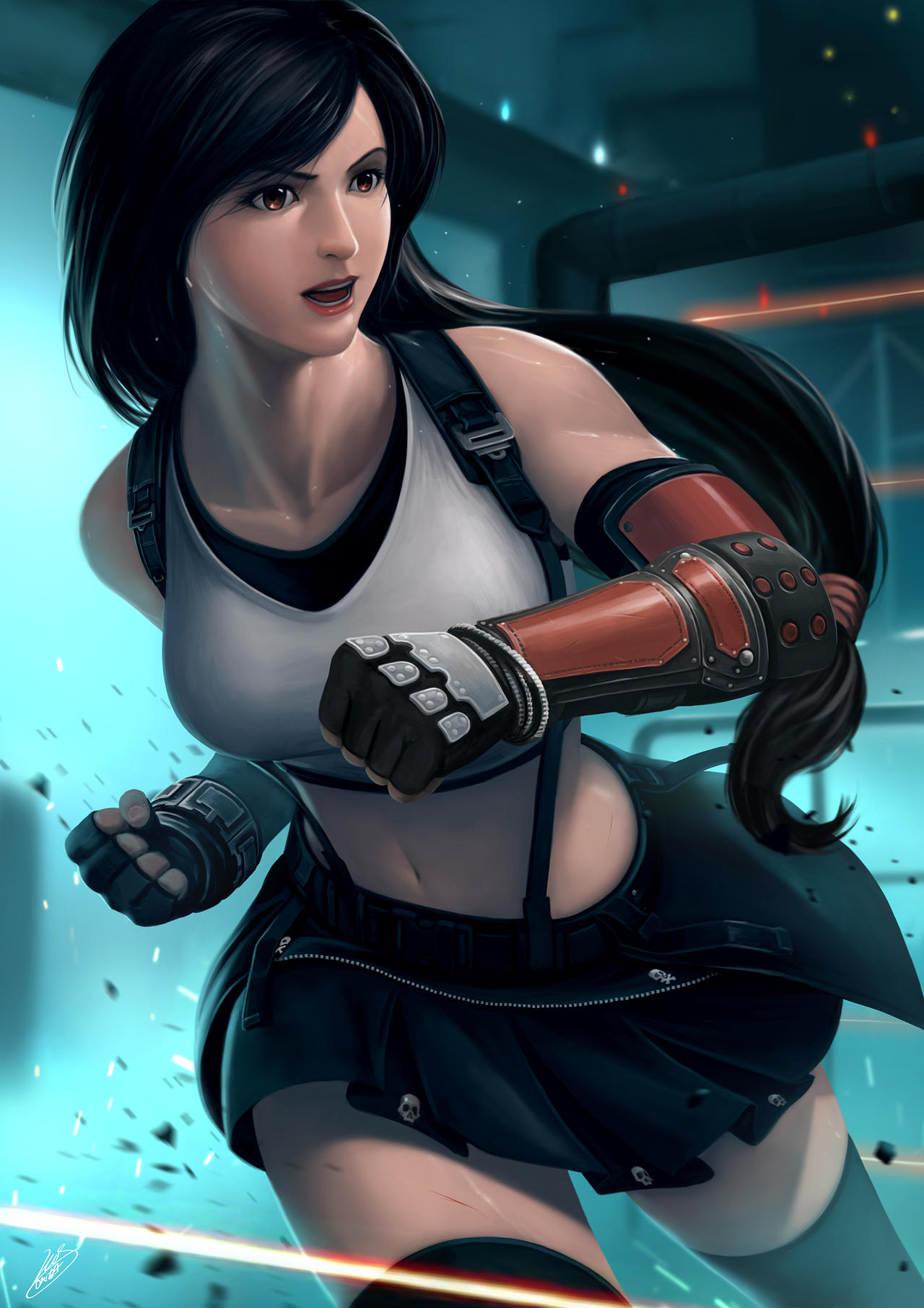 Tifa Lockhart | Final Fantasy VII by renaillusion on