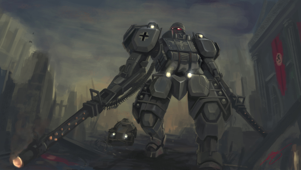 StuGgrenadier Mecha by Luches