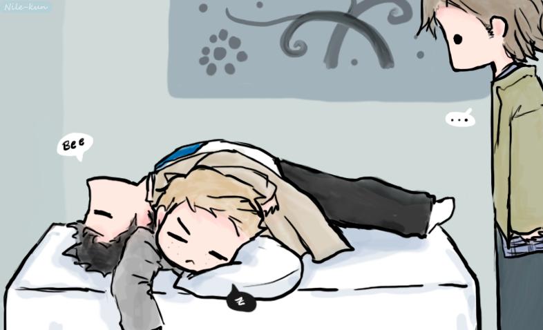 Nap time by Nile-kun