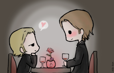 Day 4: On a date (Sabriel version) by Nile-kun