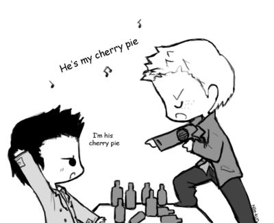 Cherry pie by Nile-kun