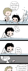 Day 18: Doing something together (Destiel) by Nile-kun