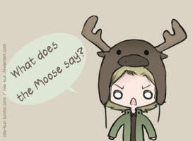 What does the Moose say? by Nile-kun