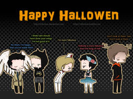 Happy Halloween :'D by Nile-kun