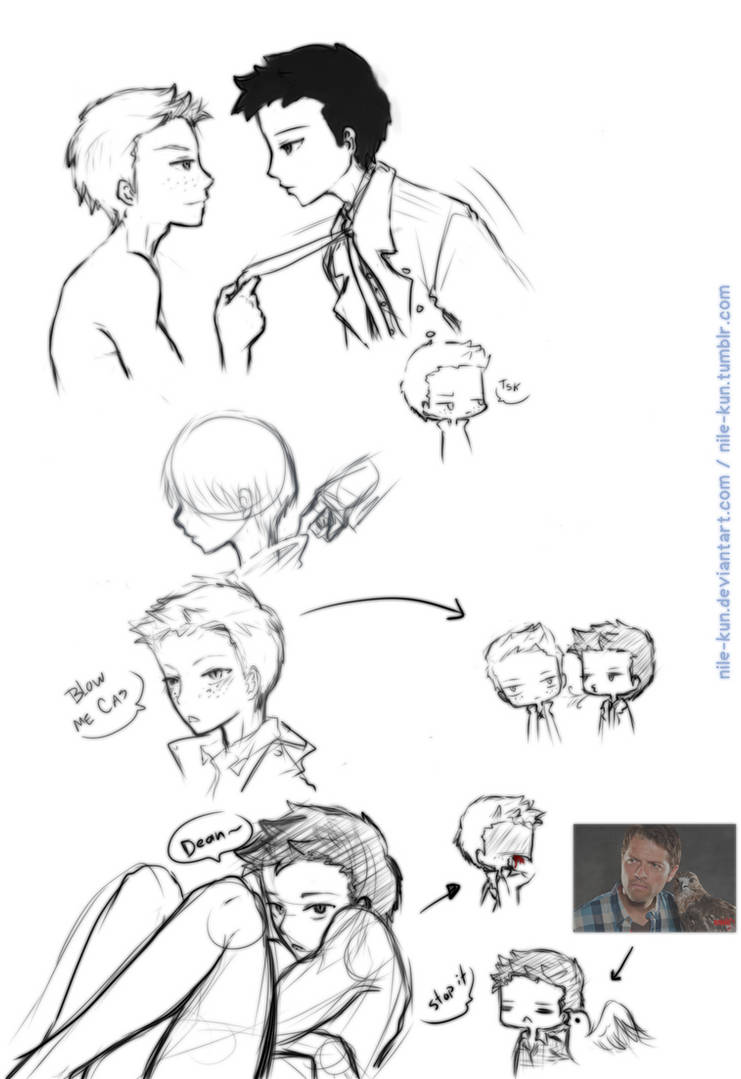 Sketches by Nile-kun