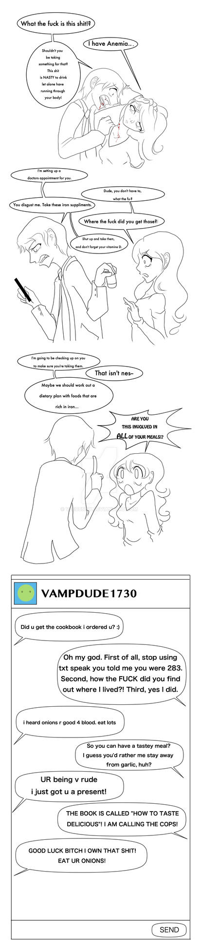 Vampire Problems: Anemia by VeeBunny
