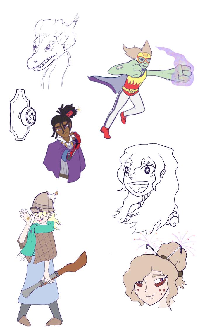 Some Trav Doodles by Ixtaek