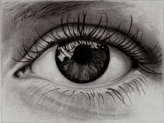 study of an eye by phaidor