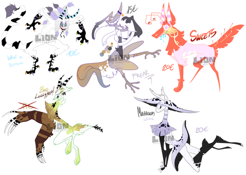 Monsterous adopts (1/5 OPEN)