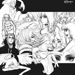 Doodledump by KiaDraven