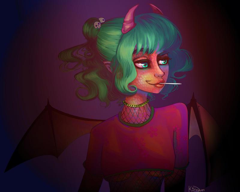 Demonette series by KiaDraven